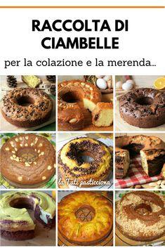 Italian Desserts, Italian Recipes, Cake Recipes, Dessert Recipes, Sweet Corner, Biscotti, Chiffon Cake, Afternoon Snacks, Sweet Cakes
