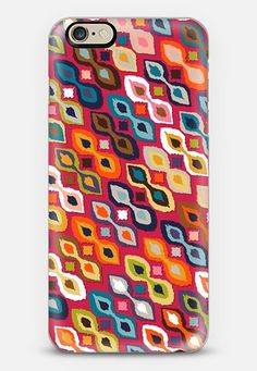 carnival ikat red @Casetify #ikat #phone #iphone #android #red #boho ~ get $10 off using code: 5A7DC3