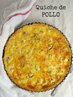 Comenzamos semana con una receta de las que a mi me gusta: Sencilla y deliciosa… Keto Quiche, Zucchini Quiche, Quiche Recipes, Casserole Recipes, Quiches, Omelettes, Dinner Recipes Easy Quick, Quick Easy Meals, Easy Cooking