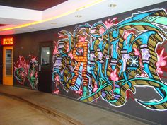 Graffiti in Hotel Erwin valet.