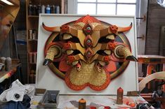 Wood Sculptures by Aj Fosik, Detroit, US.