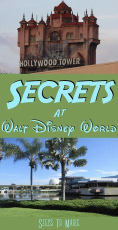Secrets at Walt Disney World - Steps To Magic   Orlando Trip Planning