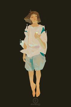 "Maybe I'm an honest villain - Movie: ""spirited away"" by studio ghibli art by awanqi Studio Ghibli Art, Studio Ghibli Movies, Hayao Miyazaki, Totoro, Blue Exorcist, Animation, Anime Manga, Anime Art, Chihiro Y Haku"