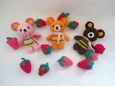 cute bear crochet pattern (eng PDF) made by Suwannalovecraft via DaWanda.com
