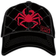25ba28ba549 Deadliest Catch | Cap | Escape Crab Trap | Red Crab on black | Logo Buckle
