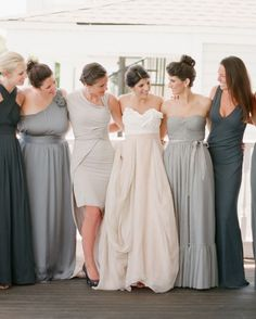 Outfitting your pals has the potential for drama—friends don't let friends wear taffeta! Instead, turn to these modern riffs on getting your besties ready for the big day. They'll thank you for it.