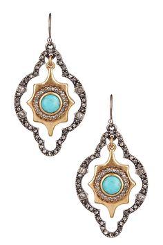 Orbital Marquise Drop Earrings on HauteLook