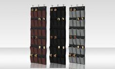 Groupon - 24-Pocket Over-the-Door Shoe Organizer.  in Online Deal. Groupon deal price: $11.99