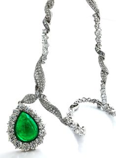 22.875ct Emerald and Diamond Necklace by VERDURA
