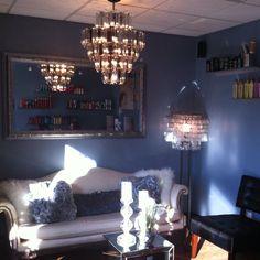 Bella Hair Salon . Greeting room .