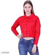 Jackets Fancy Women's Jackets Fabric: Cotton Sleeve Length: Long Sleeves Pattern: Solid Multipack: 1 Sizes:  S (Bust Size: 36 in Length Size: 28 in)  XL (Bust Size: 42 in Length Size: 28 in)  L (Bust Size: 40 in Length Size: 28 in)  M (Bust Size: 38 in Length Size: 28 in)  Country of Origin: India Sizes Available: S, M, L, XL, XXL   Catalog Rating: ★4.2 (19254)  Catalog Name: Comfy Fabulous Women Jackets CatalogID_758744 C79-SC1023 Code: 872-5139127-096
