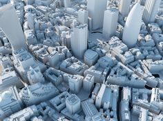 CGarchitect - Professional 3D Architectural Visualization User Community | Wide Area 3D Model of London