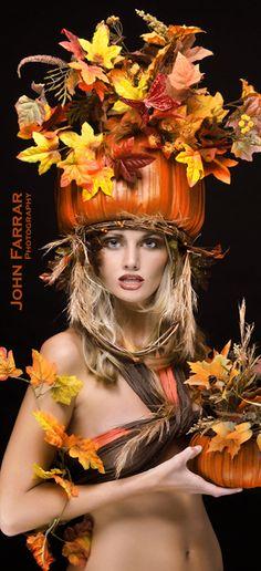 Brightonian - John Farrar  - Fashion Photography - Four Seasons - Autumn Concept