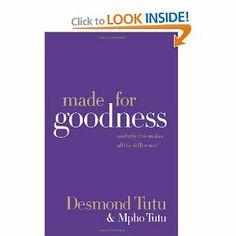 """made for goodness"" by desmond tutu"