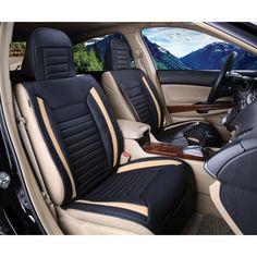 Luxury Series Tan Full Set Car Seat Cover