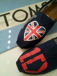 One direction TOMS! Check out my etsy shop www.tresfancy.etsy.com or email me dsdeverx@hotmail.com