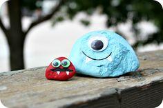 WhiMSy love: Summer Diary: Day 24: Monster Pet Rocks