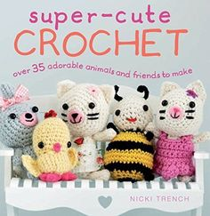 New Crochet Kits and Pattern Books  Crocheted Buddies - http://crochetedbuddies.com/2016/06/14/new-crochet-kits-and-pattern-books/ #crochet