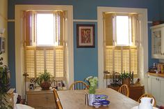 on tier by London UK Kitchen Shutters, Window Shutters, Sash Windows, Shutter Images, Kitchen Window Coverings, Window Treatments, Photo Galleries, Curtains, Living Room
