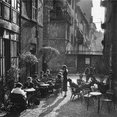Milan Italy 1950s Photo: Ugo Mulas