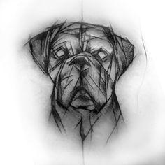 Tattoos, Tattoo Inspiration, Animals, Boxer Dogs, Tattoo Models, Tatuajes, Tattoo, Tattos, Tattoo Designs