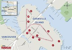Vancouver Walking Tour: Granville Island -- National Geographic's Ultimate City…