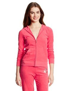 Juicy Couture Women's Shielf Hooded Terry Jacket. BUY it on Amazon: http://amazonpartner.us/?p=458