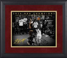 "LeBron James Cleveland Cavaliers Framed 11"" x 14"" NBA Finals Game 7 Chasedown Block Moments Spotlight - Fanatics Authentic Certified"