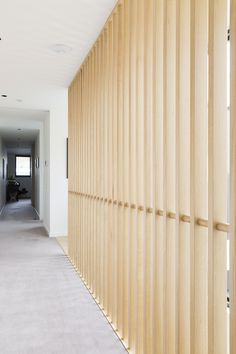 A wonderfully restrained feature piece, Bluff Avenue combines an open rise with feature Highland Oak balustrade. It's made to bring light into the home, with two cut timber stringers. Brisbane, Melbourne, Timber Stair, Timber Screens, Timber House, Front Door With Screen, Screened Porch Decorating, Diy Screen Printing, Wooden Screen
