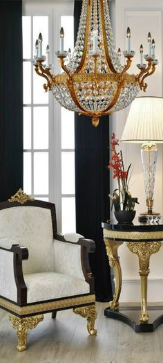 #BlackandGold #WhiteandGold Luxury Decor