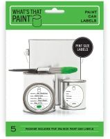 What's That Paint | Paint Can Labels