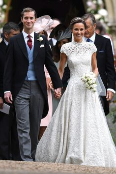Prince George Photos - Prince George of Cambridge attends the wedding of Pippa Middleton and James Matthews at St Mark's Church on May 2017 in Englefield Green, England. - Wedding of Pippa Middleton and James Matthews Pippas Wedding, Wedding Robe, Lace Wedding Dress, Wedding Gowns, Wedding Photos, Dream Wedding, Church Wedding, Wedding Ceremony, Wedding Trends