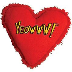 Yeowww Catnip Hearrrt Attack Cat Toy >>> Details can be found by clicking on the image. (This is an affiliate link and I receive a commission for the sales) Cat Training Pads, Cat Shedding, Catnip Toys, Cat Fleas, Cat Accessories, Cat Grooming, Cat Health, Heart Attack, American