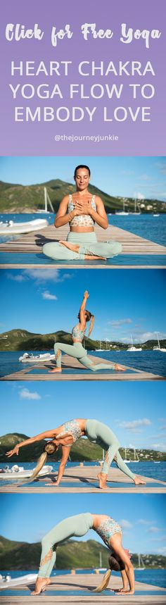 Anahata Chakra Yoga Flow: Soften into your Heart Space and Welcome Love - The Journey Junkie Vinyasa Yoga, Ashtanga Yoga, Yoga Flow Sequence, Yoga Sequences, Yoga Beginners, Yin Yoga, Yoga Inspiration, Yoga Am Morgen, Anahata Chakra