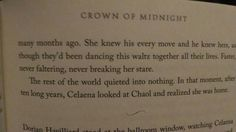 Crown of Midnight by Sarah J. Crown Of Midnight, Throne Of Glass Series, Sarah J, Book Fandoms, Favorite Quotes, Novels, Books, Libros, Book