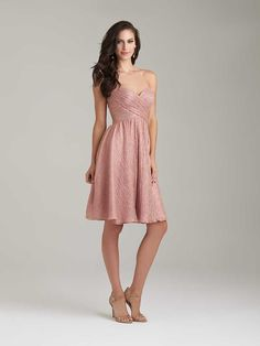 Discover the Allure 1473 Bridesmaid Dress. Find exceptional Allure Bridesmaid Dresses at The Wedding Shoppe Allure Bridesmaid Dresses, Knee Length Bridesmaid Dresses, Beautiful Bridesmaid Dresses, Bridal Dresses, Bridesmaids, Party Dresses, Bridesmaid Ideas, Beautiful Gowns, Dama Dresses