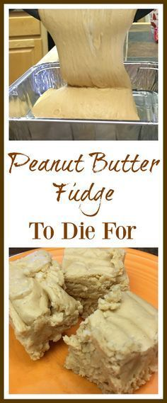This is the best peanut butter fudge recipe around. The peanut butter fudge with marshmallow cream is easy to make and is a delicious h. Best Peanut Butter Fudge, Peanut Butter Chips, Peanut Butter Recipes, Fudge Recipes, Dessert Recipes, Peanut Butter Substitute, Just Desserts, Delicious Desserts, Yummy Food