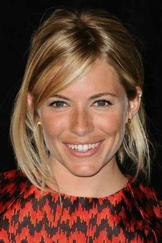 Sienna Miller Hair, Sienna Guillory, Freckles Girl, Freckle Face, Celebrity Biographies, Glamour Uk, French Hair, Celebrity Beauty, Girl Next Door