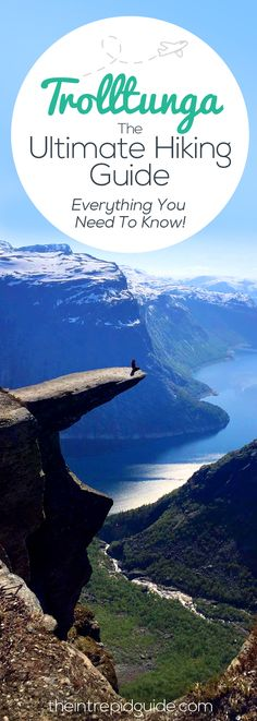 Trolltunga in Norway is one of the best hikes in the world. Map, checklist, directions & more are all included in this ultimate guide hiking Trolltunga in Europe Travel Tips, Travel Guides, Travel Destinations, Hiking Europe, Sweden Travel, Norway Travel, Norway Camping, Hiking Norway, Oh The Places You'll Go