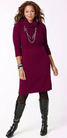 d0c96223845 Image detail for -plus size sweater dress Plus Size Sweater Dress