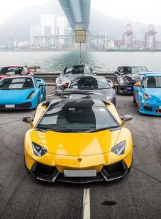 Awesome Yellow Lamborghini Aventador by DMC