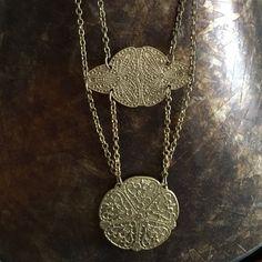 Gold Medallion necklace Gold Medallion necklace Banana Republic Jewelry Necklaces