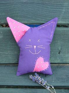 Lilka, kockacica, Játék, Plüssállat, rongyjáték, Meska Throw Pillows, Toss Pillows, Cushions, Decorative Pillows, Decor Pillows, Scatter Cushions