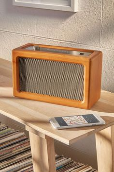 Crosley Harper Wood Wireless Speaker - Urban Outfitters
