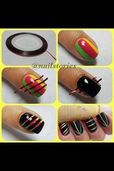 DIY nail art :)