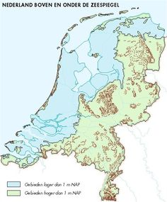 Holland Map, Netherlands Map, Topography Map, I Love School, Country Maps, Fantasy Map, Alternate History, Old Maps, European History