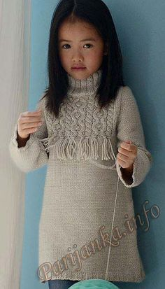 65 Ideas for knitting stitches rib website Knitting For Kids, Baby Knitting Patterns, Crochet For Kids, Knitting Stitches, Crochet Baby, Knit Crochet, Knitting Ideas, Knitting Projects, Girls Knitted Dress