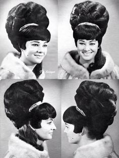 I've died and gone to Beehive hair heaven!! #beehive #bighair #60s