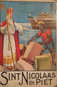 Sint Nicolaas en Piet ca. ?