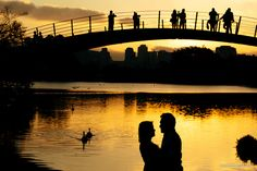 ensaio de noivado no parque ibirapuera